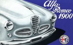 Alfa Romeo1900 Register Logo