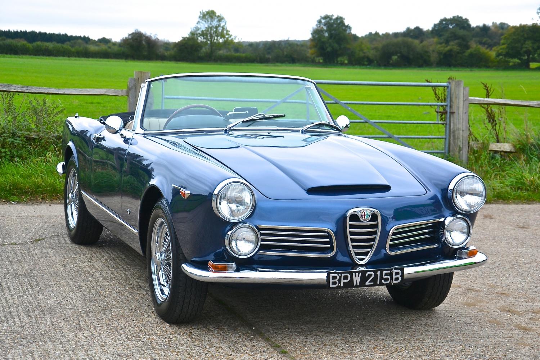 Alfa Romeo 2600 Spider Factory Rhd Sold Southwood Car Company