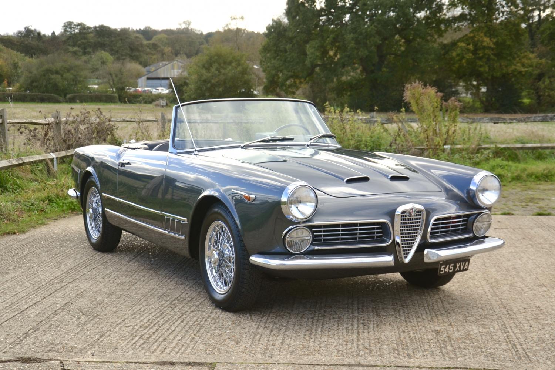 D D D B F F E Dd Fa on 1959 Alfa Romeo Spider