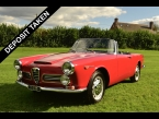 Alfa Romeo 2600 Spider by Touring photograph